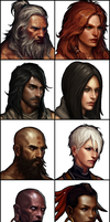 Diablo 3 Classes by deamen1989