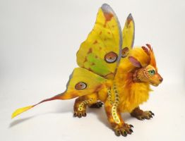 Comet Moth dragon by kimrhodes