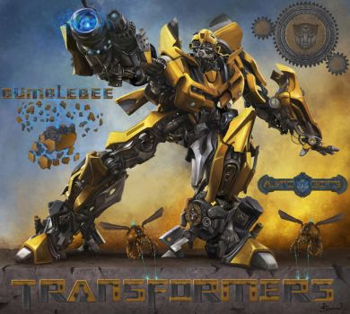 Bumblebee by PaladinPainter