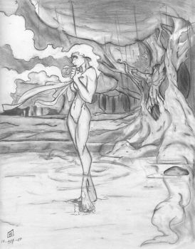 Lady of the wood by CrimsomShade