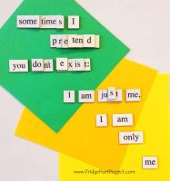 The Daily Magnet #132 by FridgePoetProject