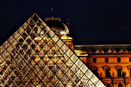 Louvre By Night 3 by HairJay