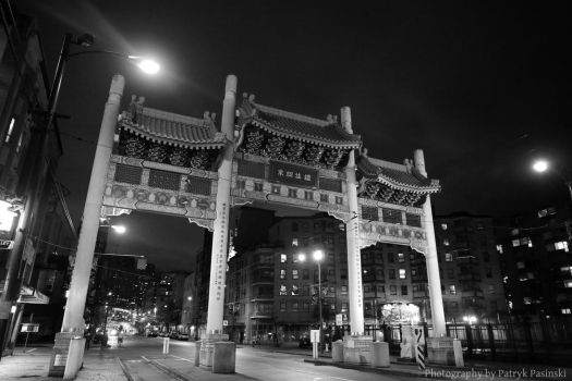 Vancouver - Gate of China Town by Acolite