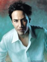 Keanu Reeves by YuliaPW