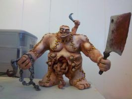 Abomination Sculpture by rawrsalot