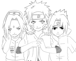 Team 7 Revival LINEART by attisalatti