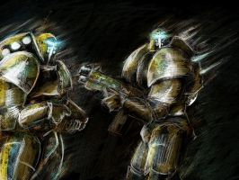 Space Marines by cocco91