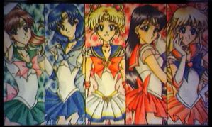 .:sailor moon and her senshi:. by seijitsu