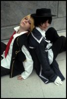 Pandora Hearts Cosplay OzXGil by LostRiddle