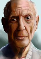 Pablo Picasso by vaka9