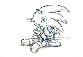 12 the knee hold  sonic by bbpopococo