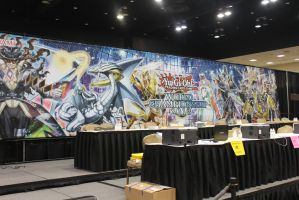 Full view of GIANT World Championship Banner! by Pharaohmones