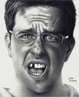 The Hangover - Ed Helms by Doctor-Pencil