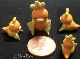 Torchic charm by ElectricDinoSaur
