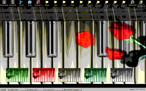 My Piano Luv Desktop by Chezzi-Chan