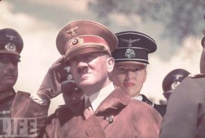 In the Presence of the Fuehrer by Soviet-Superwoman