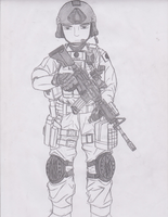 Kenji Utada (Japanese Special Forces Group) by jmig3