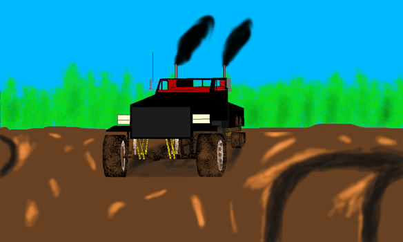 Attempt at my truck by eliteracer