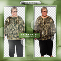 +Kathy Bates photopack png by ForeverTribute