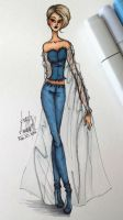 Denim Fashion by angelaaasketches