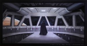 Darth Vader Awaits: P3 by My-PrOxY