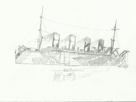 HMT Olympic by Admiral-Kevin
