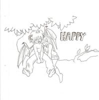 Happy Incubus Uncolored by TheTeaMaker