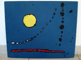 Sky Inspired by Miro by frangg23