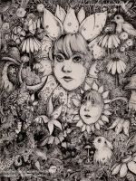 Petunia and her son Pansy by sarahbeeillustration