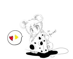 Cute mouse by marina094