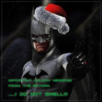 Message from Batman by RawArt3d