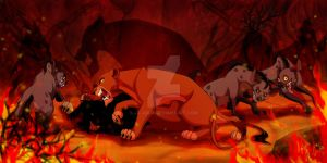 Video The Lion King - Scar Death - Speed Painting by JR-Julia