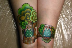 pretty owls by NikaSamarina