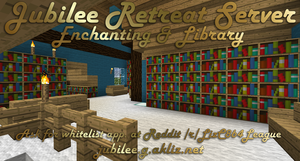 Jubilee Retreat Server Enchanting and Library by LizC864