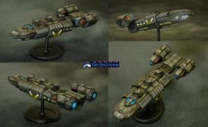 Federal Navy Battle Class Cruiser by Atropos907