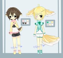 CLOSED:AUCTION - Kemonomimi Boys Adopts by Hina-Mi