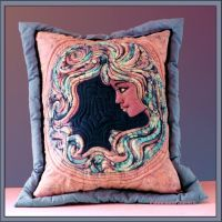 CUSHION GIRL by Voodoomamma