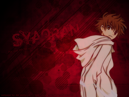 Red Syaoran by aleprettycat