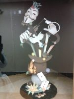 Magician Chocolate Sculpture Display by sunflora263