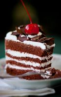 Black Forest Cake by cumberries