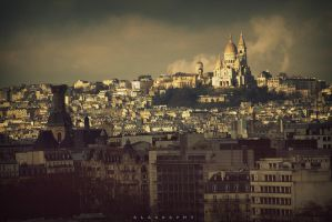 Sacre Coeur de Paris by alahay
