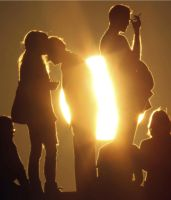 Sunlit People by Saphira001