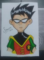 Robin Teen Titans by FERPHN