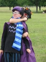 Eridan and Sollux: Surprise Attack by MidnightStriders