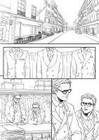 Kingsman:The Secret Tailor by xanseviera