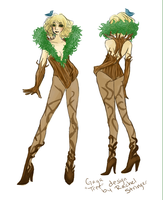 "Gaga ""Tree"" Design by sesshouga"