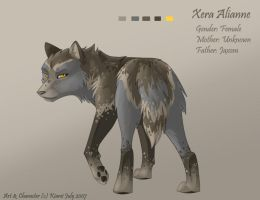 Xera Alianne - RP Char Sheet by Kiarei-star