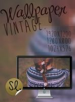 Vintage - Wallpaper by coral-m
