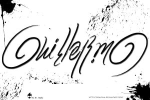Ambigram of My Name by DrAlpha