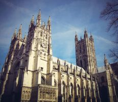 Canterbury Cathedral by foreverfrodo